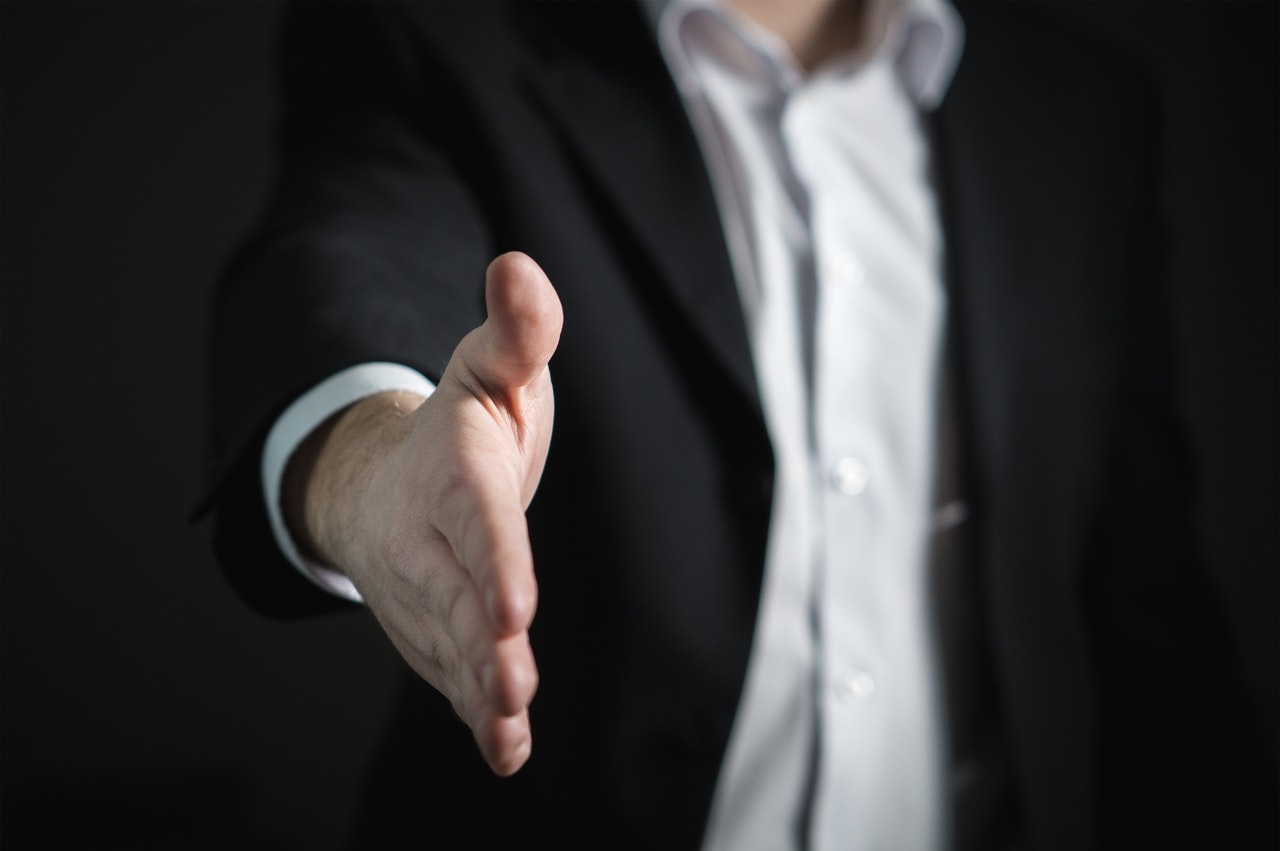 business opportunity handshake